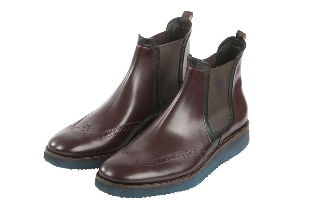 Мужские ботинки 2177 из натуральной кожи Barracuda