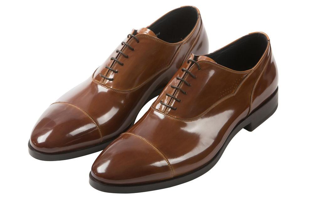 Мужские туфли из лакированной кожи Barracuda 215601