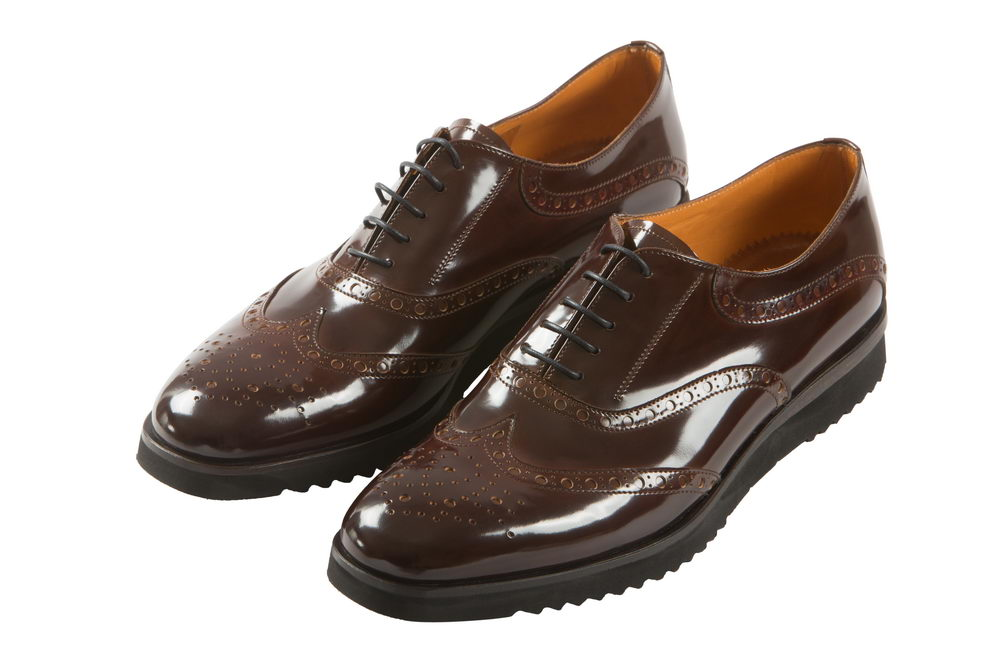 Женские ботинки из лакированной кожи, 0121 JB.Martin,