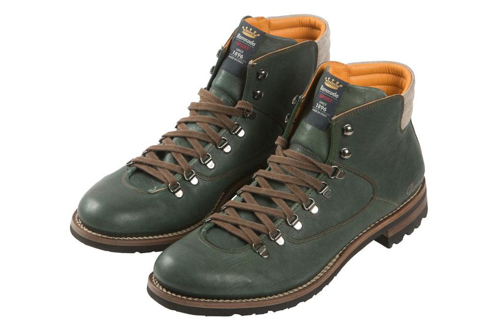 Мужские ботинки из натуральной кожи 1945 Barracuda