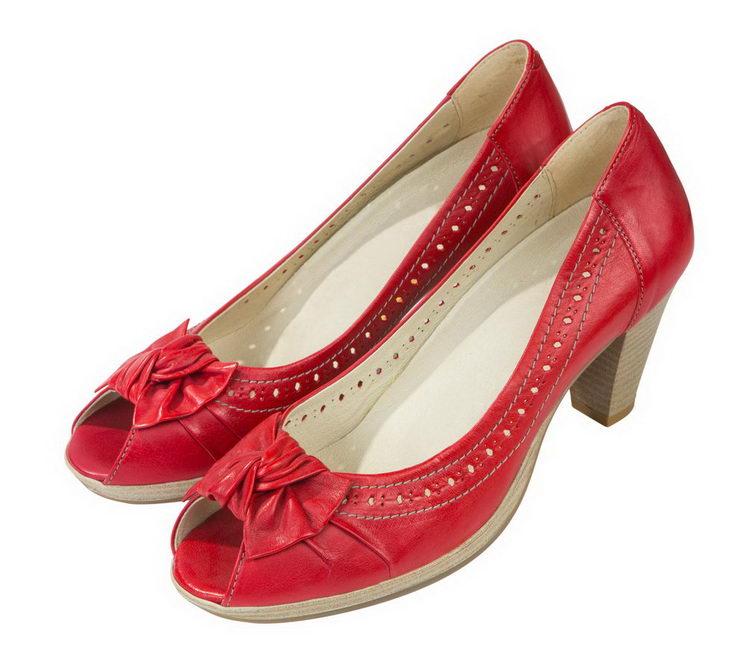 Женские туфли 4436604 из натуральной кожи Softwaves
