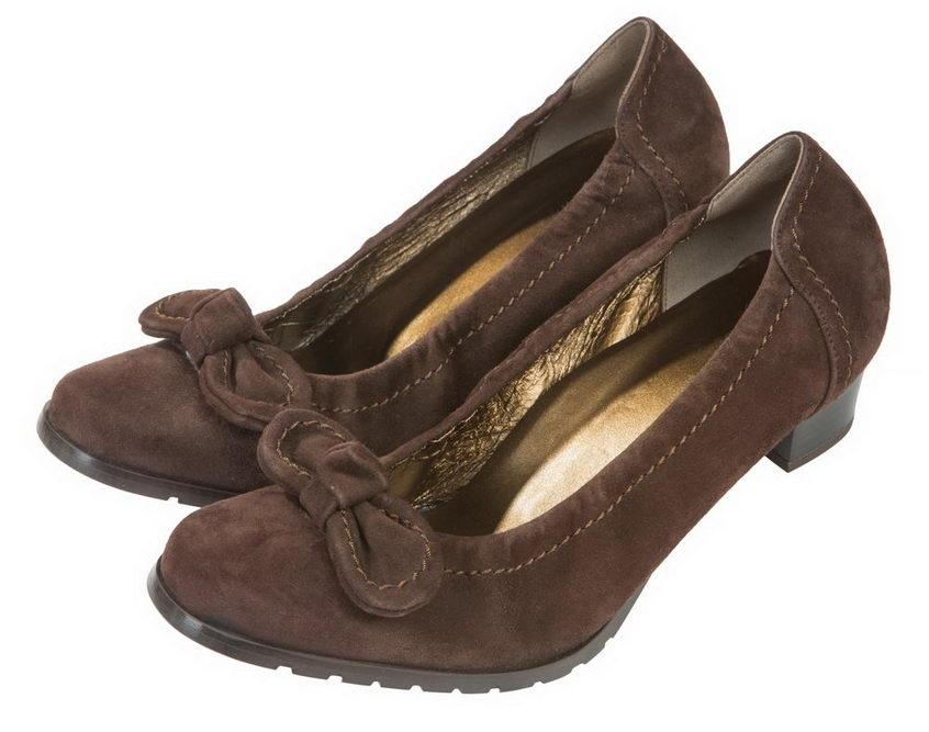 Женские туфли из замши Martina 8919