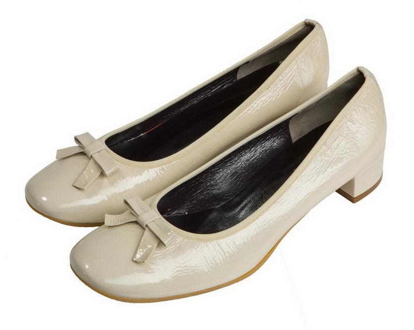 Женские туфли из лакированной кожи Martina, АМ139