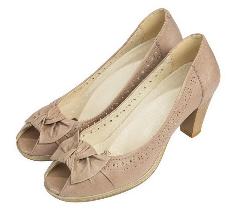 Женские туфли из натуральной кожи  Softwaves 4436602