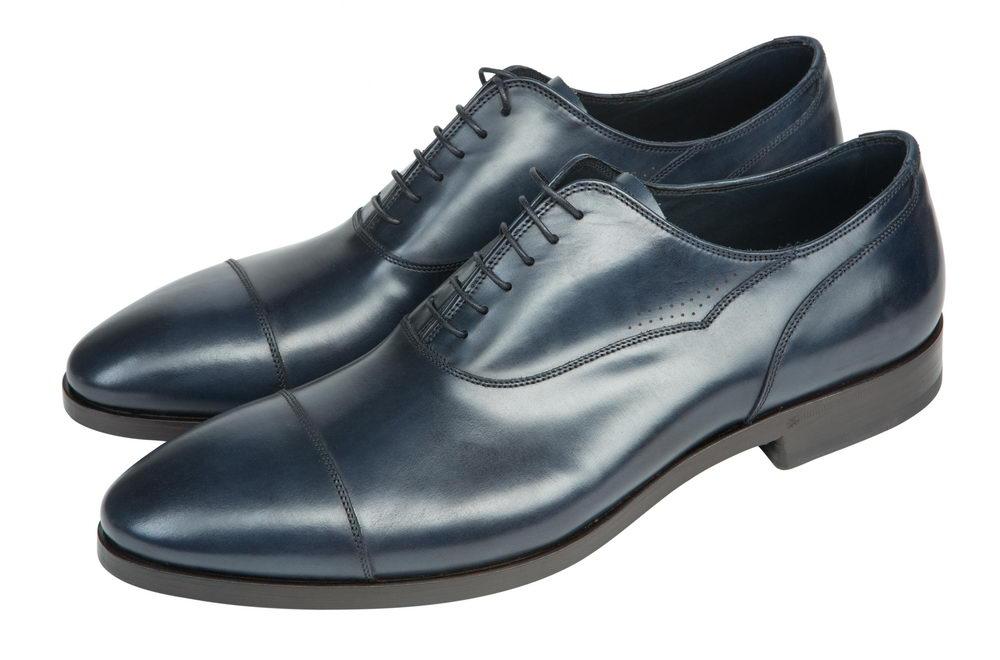 Мужские туфли 2156 из натуральной кожи Barracuda