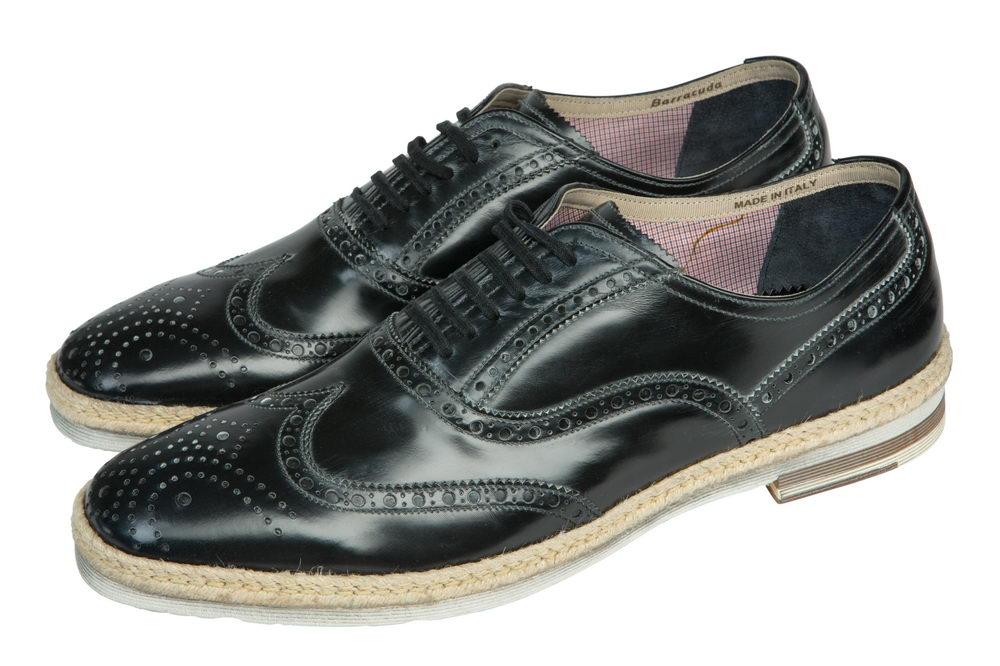 Мужские туфли 2047 из натуральной кожи Barracuda