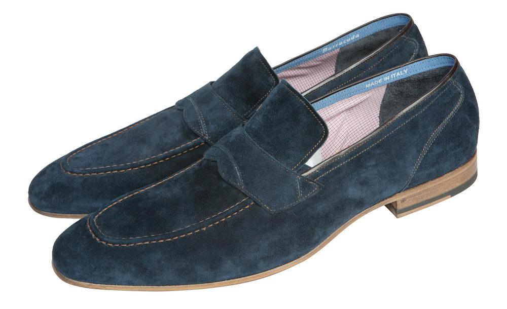 Мужские туфли 206401 из натуральной замши Barracuda