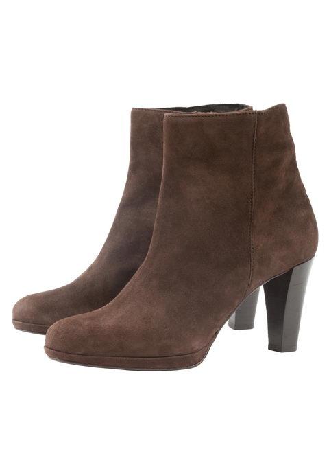 Женские ботинки 1188 из натуральной замши, Martina
