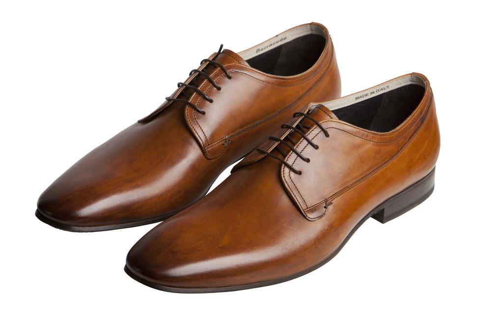 Мужские туфли 2063 из натуральной кожи Barracuda