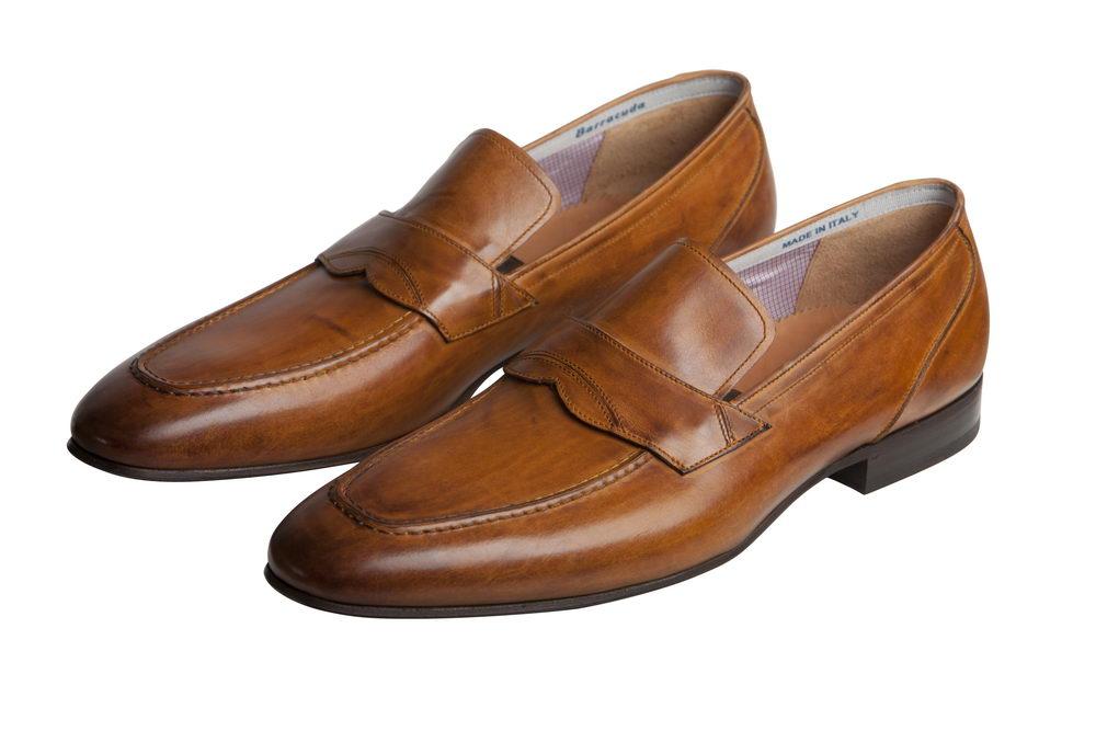 Мужские туфли 2064 из натуральной кожи Barracuda