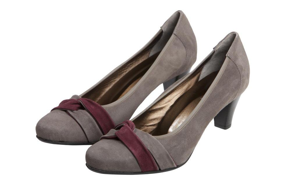 Женские туфли Martina 894401 из натуральной замши