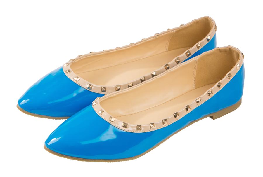Женские балетки из кожи 119302 Barefoot Tess