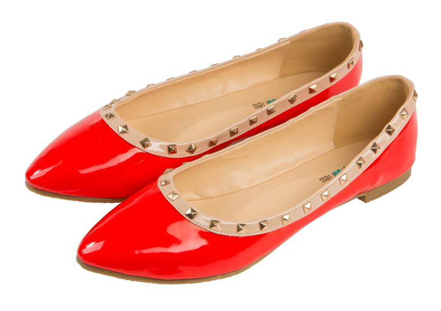 Женские балетки из кожи Barefoot Tess 119303