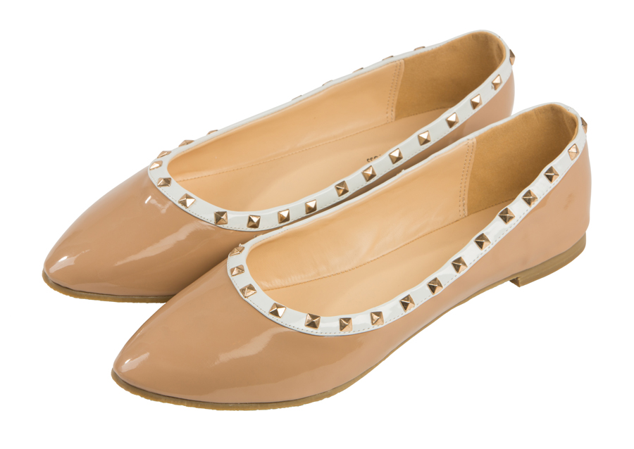 Женские балетки 1193 Barefoot Tess из кожи