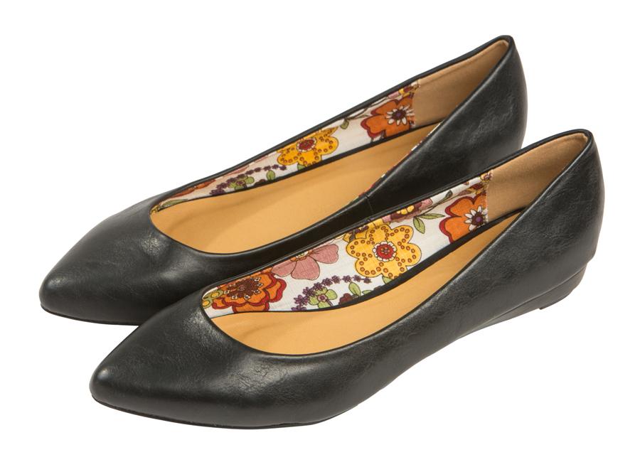 Женские балетки Barefoot Tess из кожи 118201