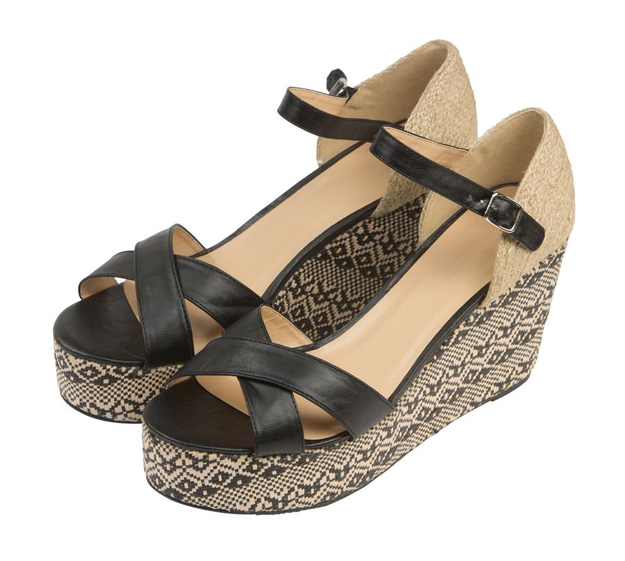 Женские босоножки Barefoot Tess из кожи 1178