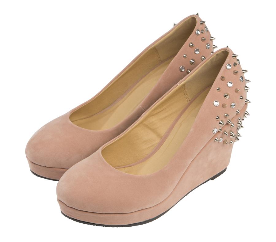 Женские туфли 1192 Barefoot Tess из замши