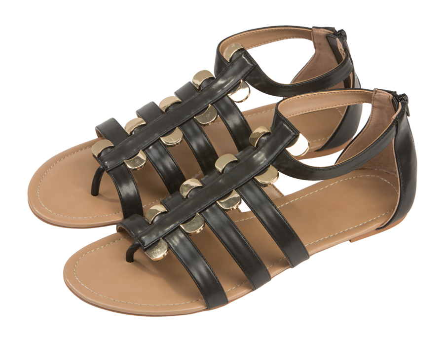 Женские сандали 119001 Barefoot Tess из кожи
