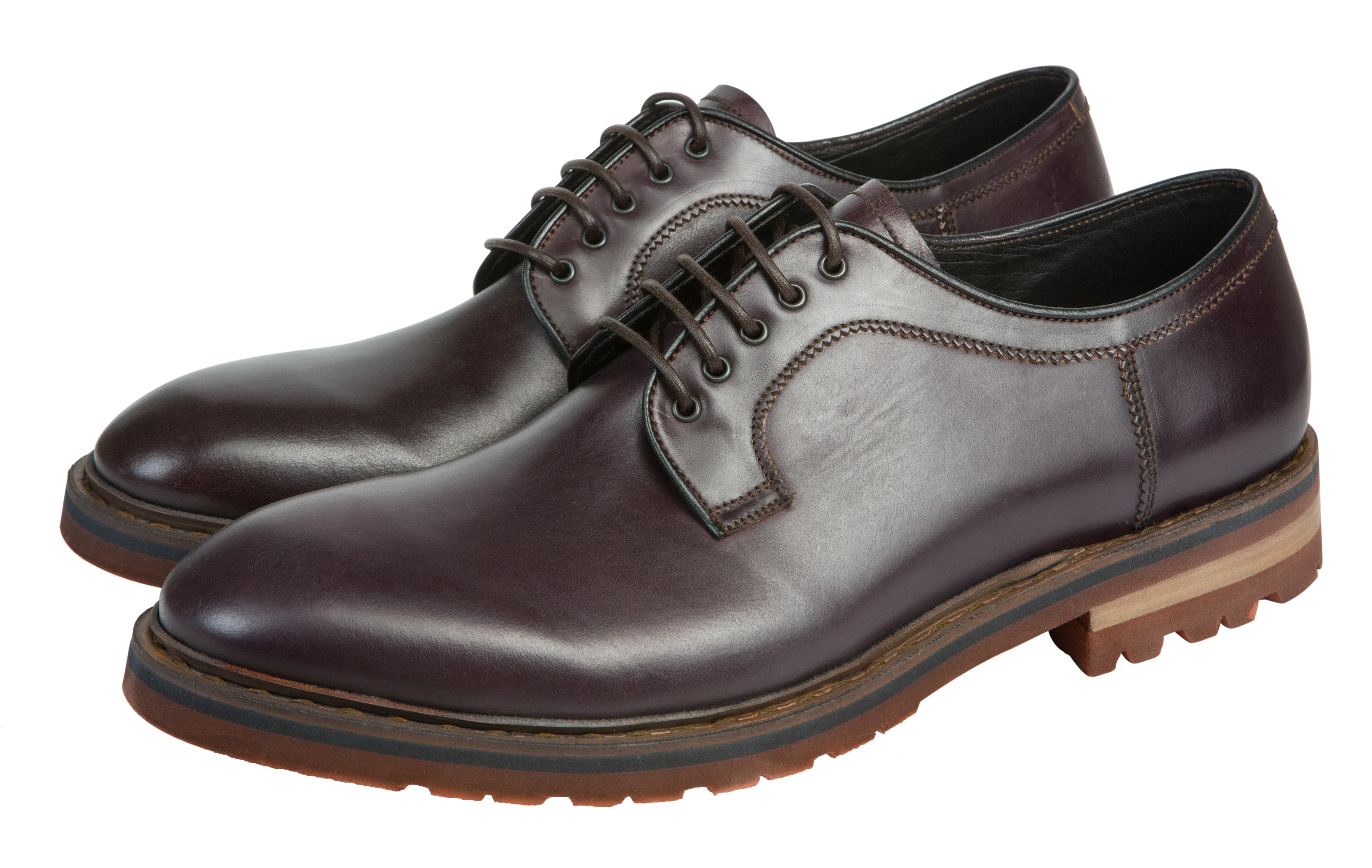 Мужские ботинки из натуральной кожи Barracuda 2194