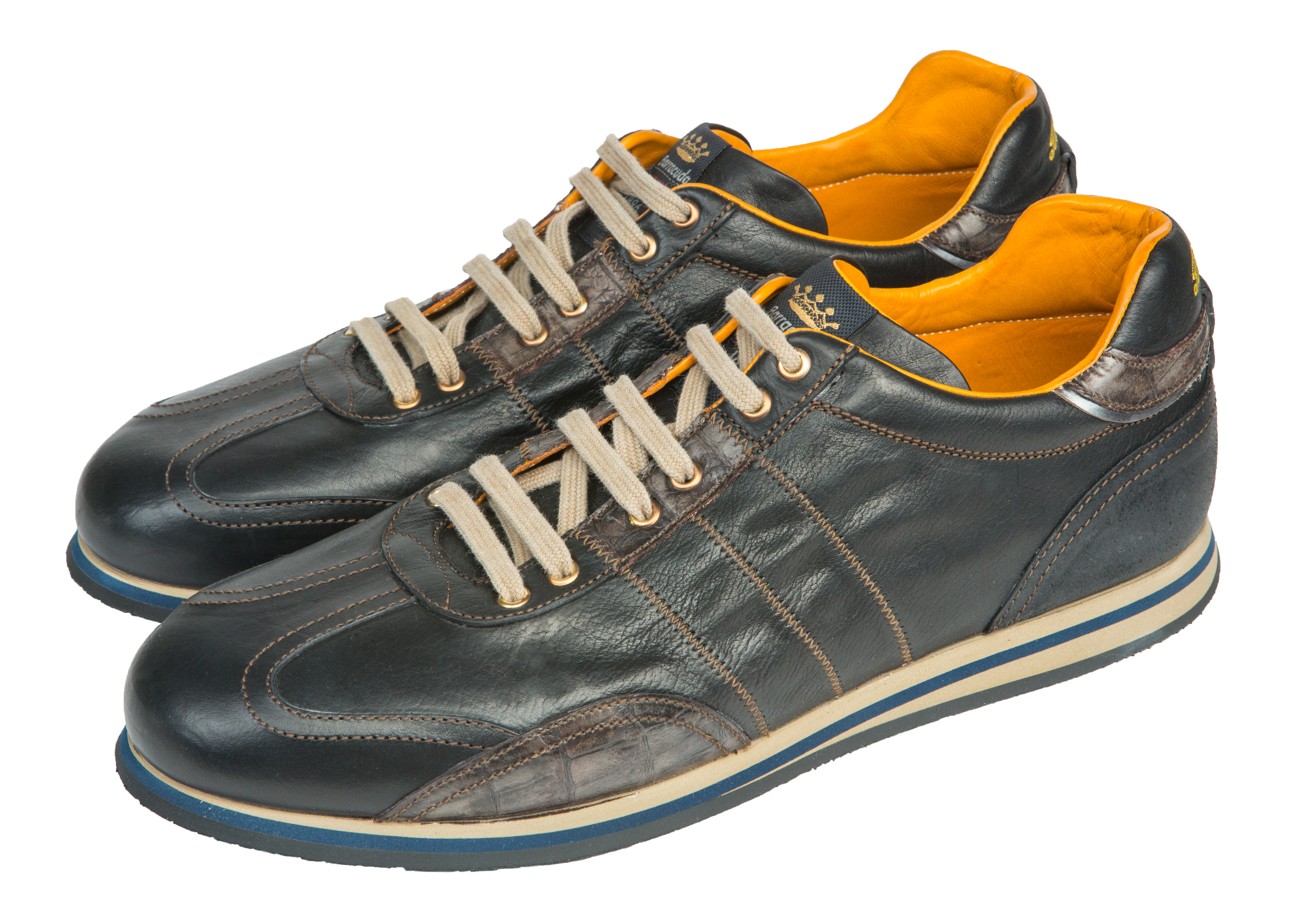 Мужские кроссовки  из натуральной кожи 2148 Barracuda