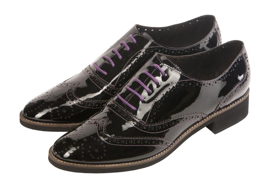 Женские ботинки из лакированной кожи, JB.Martin, 3Bevlano